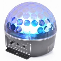 Mini Star Ball Sound 3 x 3W RGB LED
