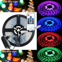 RGB Led strip 2,5mtr. + controller 230Vac